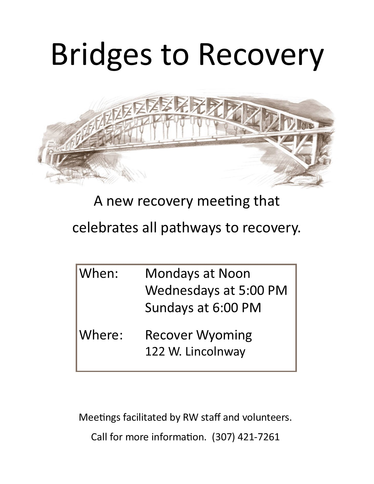 Recovery Support   Recover Wyoming